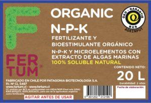 Organic N-P-K