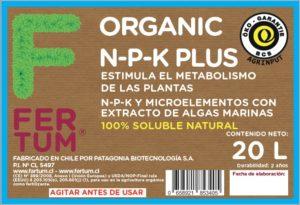 estimula el metabolismo de las plantas